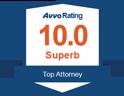 Avvo Rating 10.0 Topy Attorney Employment